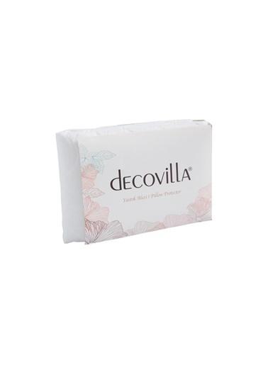 Decovilla Kapitone Yastık Alezi 50X70 Sıvı Geçirmez Beyaz